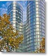 City Of Zagreb Modern Architecture Metal Print