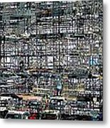 City Park City Art Metal Print