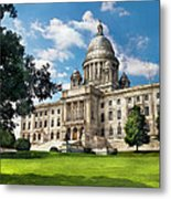 City - Providence Ri - The Capitol  Metal Print