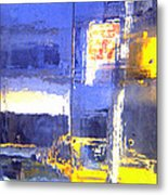 City Reflection Metal Print