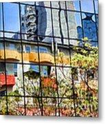 City Reflections By Diana Sainz Metal Print