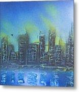 City Spray II Metal Print