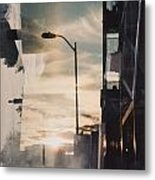City Sunset 1 Metal Print