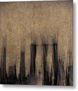 City Visions Metal Print