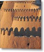 City Walls Of Khiva Metal Print