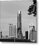 Cityscape 28 C Austin Metal Print