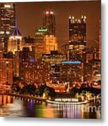 Cityscape Of Color Metal Print