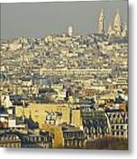 Cityscape Of Paris Paris, France Metal Print by Ingrid Rasmussen