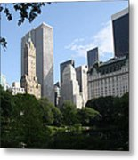 Cityview Form Central Park Metal Print