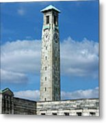 Civic Centre Southampton Metal Print