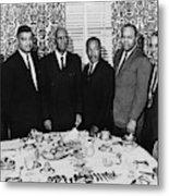 Civil Rights Leaders, 1963 Metal Print