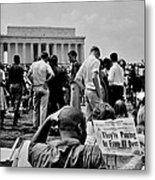 Civil Rights Occupiers Metal Print