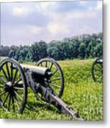 Civil War Cannons Metal Print