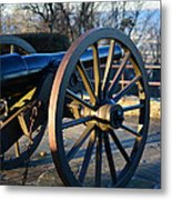 Civil War Cannon Metal Print