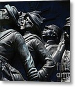 Civil War Figures Metal Print