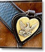 Civil War Horse Breastplate Metal Print