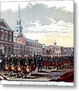 Civil War Philadelphia Zouave Corps Metal Print