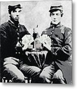 Civil War Whiskey And Cards  C. 1863 Metal Print