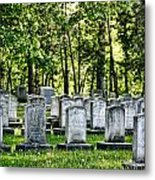 Civitl War Warrior Graves Metal Print