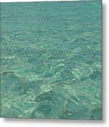 Clear Water Of Guam Metal Print