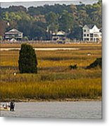 Clam Country Metal Print