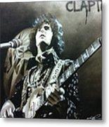 Clapton Metal Print