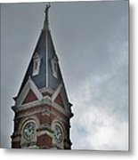 Clarion Clock Tower Metal Print