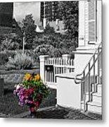 Clark House Flowers 2 Metal Print