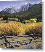 Clark Peak Metal Print by Mary Giacomini