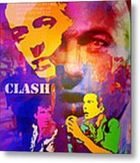 Clash Know Your Rights Metal Print