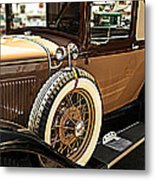 Classic 1928 Ford Model A Sport Coupe Convertible Automobile Car Metal Print