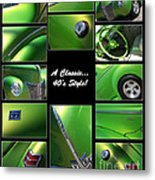 Classic 40s Style - Poster Metal Print