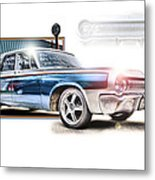 Classic '64 Dodge Oakland County Mi Metal Print