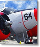 Classic Aircraft Metal Print