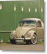Classic Beetle 7 Metal Print