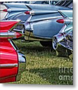 Classic Caddy Fin Party Metal Print