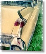 Classic Caddy Fins Metal Print