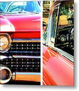 Classic Caddy Inside And Out Metal Print