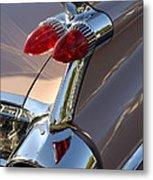 Classic 1960's Cadillac Fin Metal Print