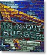Classic Cali Burger 2.2 Metal Print
