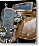 Classic Car - 1935 Buick Victoria Metal Print