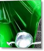 Classic Cars Beauty By Design 2 Metal Print