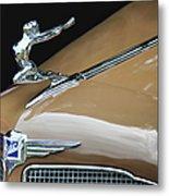 Classic Car - Buick Victoria Hood Ornament Metal Print