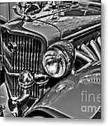 Classic Car Detail Metal Print