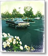 Classic Car Family Outing Metal Print