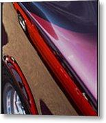 Classic Car Reflection - 09.20.08_155 Metal Print