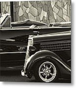 Classic Car Show Metal Print