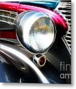 Classic Cars Beauty By Design 1 Metal Print