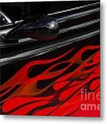 Classic Cars Beauty By Design 12 Metal Print