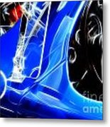 Classic Cars Beauty By Design 3 Metal Print